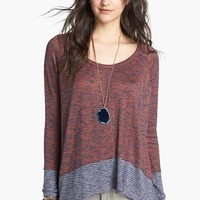 Free People 'Huntington Hacci' Colorblock Top (Save Now through 12/9) | Nordstrom