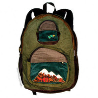 Big Mountain Patchwork Corduroy Backpack on Sale for $49.95 at The Hippie Shop