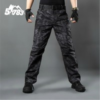 Men Camouflage Tactical Military Clothing Paintball Army Cargo Pants Combat Trousers Multicam Military Tactical Pants
