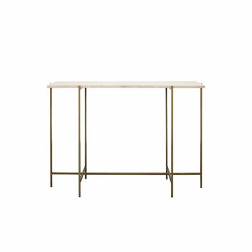 Aaron Bronze Console Table