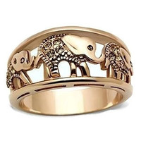 Elephant Ring, Gold Elephant Ring, Gold Ring, Rings, Size 5 Ring, size 5 gold ring,