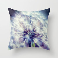 POOF Throw Pillow by DuckyB (Brandi)