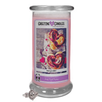 I Love You Sister!   Jewelry Greeting Candle