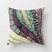 too tall Throw Pillow by Mariana Beldi | Society6