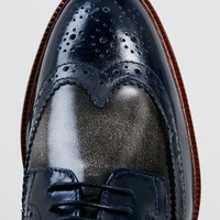 Delta Two Tone Brogue Shoes - View All Shoes - Shoes and Accessories