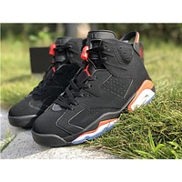 "AIR JORDAN 6 RETRO (GS) ""Black Infrared"""