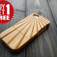 Dark Bamboo Sunlight Wood iPhone 5 5s Case , Bright Wood iPhone 5 5s Case , Colorful Wood iPhone 5 5s Case , Christmas Wedding Gift for her