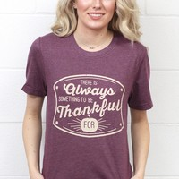 Always Something to be Thankful For {Heather Maroon}