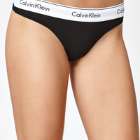 Calvin Klein Modern Cotton Thong at PacSun.com
