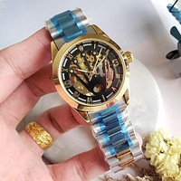 8DESS Rolex Woman Men Fashion Automatic Mechanical Wristwatch Watch 34mm