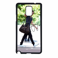 One Direction Harry Styles Hello Samsung Galaxy Note 4 Case