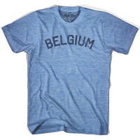 Belgium City Vintage T-shirt