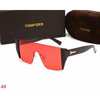 Tom Ford Stylish Women Men Personality Summer Sun Shades Eyeglasses Glasses Sunglasses 4# Red I-ZXJ