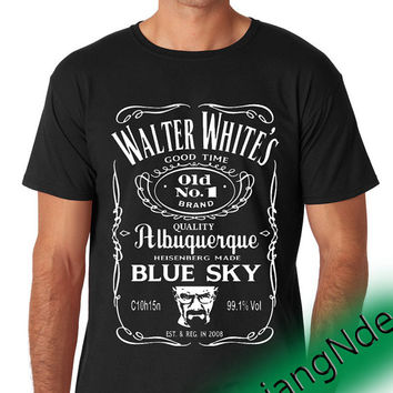 Walter White Breaking Bad  T-shirt High Quality Design in Men's and Women's
