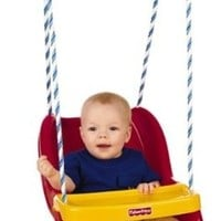 Fisher-Price Infant To Toddler Swing in Red