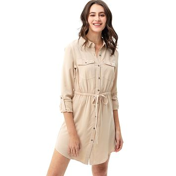 Cherish Shirt Dress