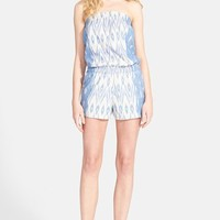 Women's Piece & Co. and Joie 'Gidget' Chambray Romper (Nordstrom Exclusive)