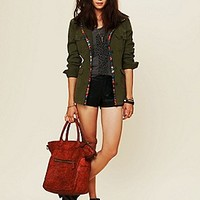 Free People  Vegan Leather Short at Free People Clothing Boutique