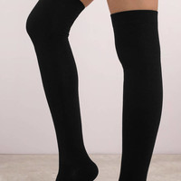 Mammoth Thigh High Socks