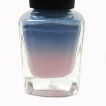 NEW!! Blue Rose// Thermal Handmade Color Changing Nail Polish// Rose Quartz Serenity//Color of the Year Inspired//Cruelty Free