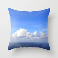 room with a view - day 1 Throw Pillow by findsFUNDSTUECKE (Steffi Louis)   Society6