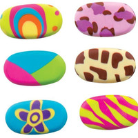 stubby style eraser Case of 24