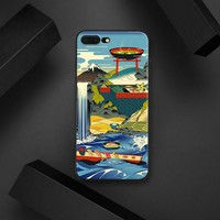 Japanese Style Painting landscape sushi Tpu Soft Silicone Phone Case Cover Shell For Apple IPhone 5 5s SE 6 6s 7 8 Plus X 10