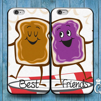 iPhone 4 4s 5 5s 5c 6 6s plus + iPod Touch 4th 5th 6th Generation Cute Best Friend Couple Food Bf Gf BFF Fun Phone Cover Adorable Funny Case
