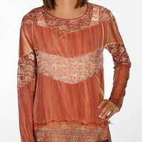 Gimmicks By BKE Pieced Lace Top