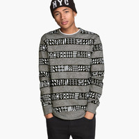 H&M Sweatshirt with Printed Design $24.95