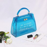 Milan Grafitti Handbag  Ocean Blue