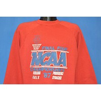 80s Indiana Hoosiers Final Four '87 t-shirt Large