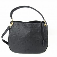 LOUIS VUITTON Spontini Shoulder bag M42819 Monogram Empreinte Black Noir