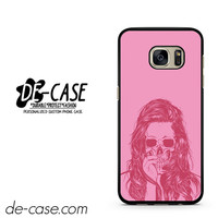 Woman Pink Skull DEAL-11992 Samsung Phonecase Cover For Samsung Galaxy S7 / S7 Edge