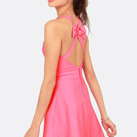Because You Bow Better Pink Dress