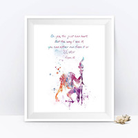 Rafiki Quote Lion King Art Nursery Print Lion King Poster Watercolor Lion King Quotes Gift Painting Wall Art Digital Download