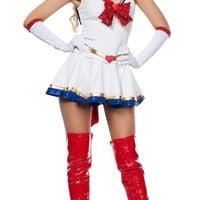 Anime Pretty Sailor Moon Costumes Sexy Adult Halloween Costumes for Women Cosplay HLX6841