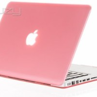 "Kuzy - 15-inch PINK Rubberized Hard Case Cover for Apple MacBook Pro 15.4"" Model: A1286 Glossy Display - Pink"