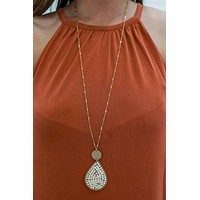 Beyond The Shore Necklace - Natural