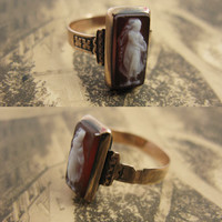 """Erica Weiner Jewelry - """"La Sylphide"""" Cameo Ring"""