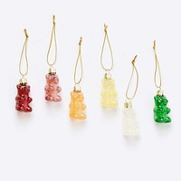 Glass Gummy Bear Ornament