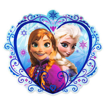 disney store frozen anna and elsa dinnerware meal time magic placemat new