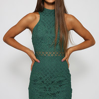 Next Hit Dress - Green