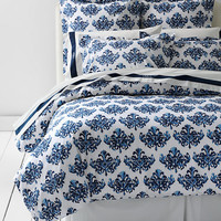 Egyptian Cotton Print Duvet or Sham from Lands' End