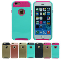 Shockproof Dual Layer Hybrid Rugged Armor PC Slim Skin Hard Back Case Cover For iPhone 7 6 6s Plus 4 4s 5 S 5C SE Phone Case Bag