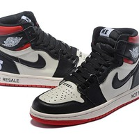 "[ Free  Shipping ] Air Jordan 1 Retro High Og ""Not For Resale"" Basketball Shoes"