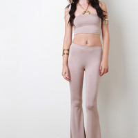 Jersey Flared Pants