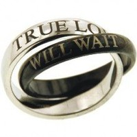 True Love Will Wait Purity Ring - Size 6