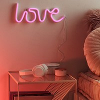 Love LED Neon Sign | Urban Outfitters