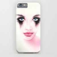 MonGhost XII - TheWarriorGirl iPhone & iPod Case by LilaVert